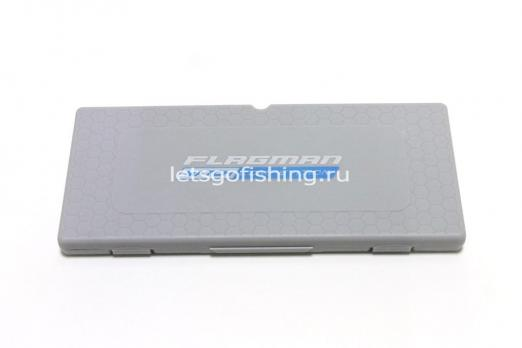 Поводочница Flagman Hooklenght Box Gray 23*10*2cm