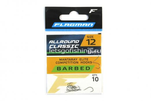 Крючки Flagman All Round Classic №12